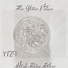 W24 High Shine Silver (.030)