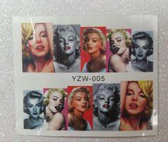 Water Slide Decal (YZW00) Marilyn Monroe