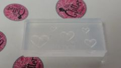 3D Mold #M26 Heart Make Your Own 3D Nail Decorations