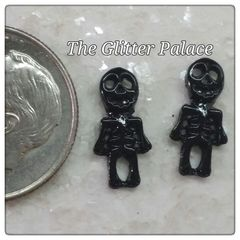 3D Black Skeleton #1 (pack of 2)