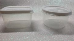 Storage- large 2 oz plastic containers with lids