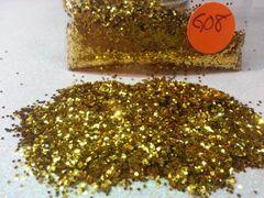 GO8 Gold (.040) Solvent Resistant Glitter