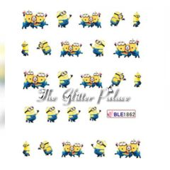 Waterslide Decal - Minion BLE1862