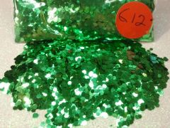 G12 Fire Forest Green (.062) Solvent Resistant Glitter