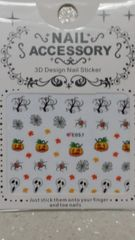 Water Slide Decal (E057) Halloween nail decals