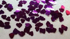 IN83 Large Dark Purple Heart Insert (1.5 gr baggie)
