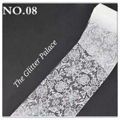 Foil - White Lace #8