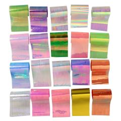 Mylar Sheets (pack of 20 different colors)