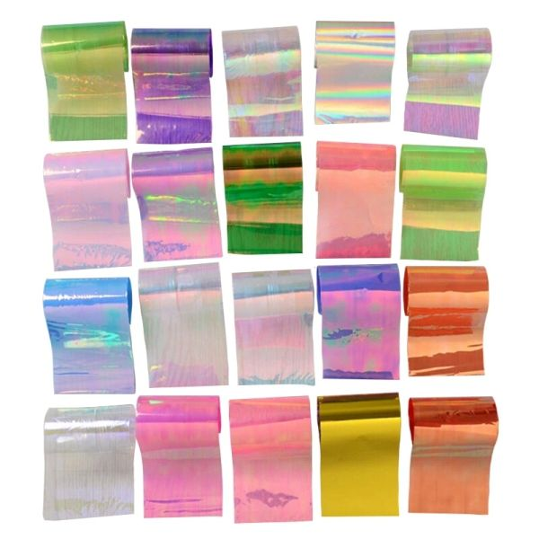 Mylar Sheets (pack of 20 different colors) | The Glitter Palace nail ...