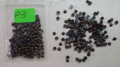 Pearl #P3 (3 mm brown pearls)(1 pack)
