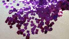 IN95 Purple Square Glitter Insert (1.5 gr baggie)