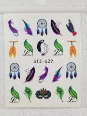 Feather Waterslide Decals (STZ-629)