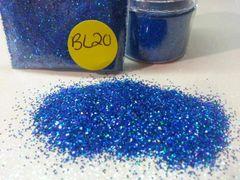 BL 20 Holographic Navy Blue (.015) Solvent Resistant Glitter