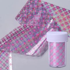 FOIL - #45 Pink Checkered