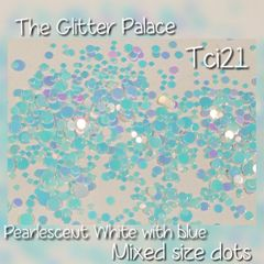 Pearlescent White Dot Mix (Tci21)