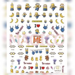 Waterslide Decal - Minion (Large)