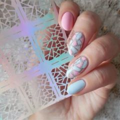 Triangle Pattern Nail Vinyl