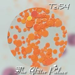 Pearlescent Orange Dot Mix (Tci54)