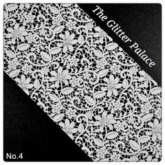 Foil - White Lace #4