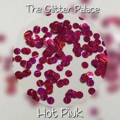 Hot Pink Laser Dots