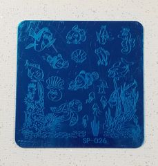 Stamping Plate (SP-026) Aquarium, Fish