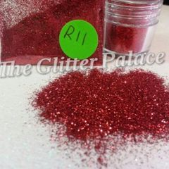R11 Red (.008) Solvent Resistant Glitter