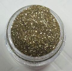 GO17 White Gold (.008) Solvent Resistant Glitter