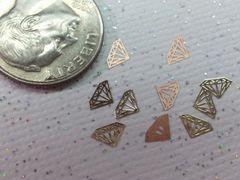 MI25 Gold Diamond (24k very thin metal decoration) (25 pieces)