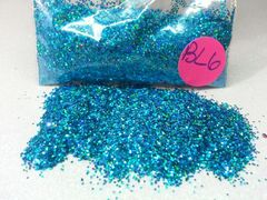 BL6 Holo Firozi (.025) Solvent Resistant Glitter