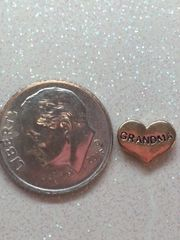 Charm #FL70 - Gold Grandma (1piece)(perfect for nails, or living & floating lockets)