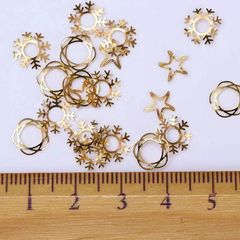 Embellishments - Gold & Silver #1