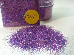 PU21 Holographic Lily (Size .015) Solvent Resistant