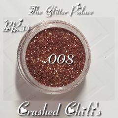 BR34 Crushed Chili's (.008) Solvent Resistant Glitter