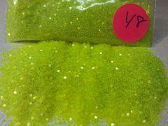 Y8 KK Lime (.040) Solvent Resistant Glitter