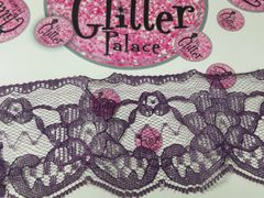 Lace - #L30 Dark Purple Lace