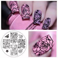 Stamping Plate - (BP-73) Roses