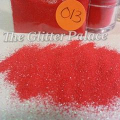 O13 Giotto Ruby (.008) Solvent Resistant Glitter
