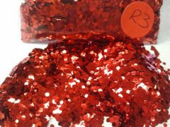 R3 Fire Red (.062) Solvent Resistant Glitter