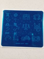 Stamping Plate (KADS SKY 003) Astrology