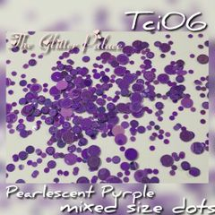 Pearlescent Purple Dot Mix (Tci06)
