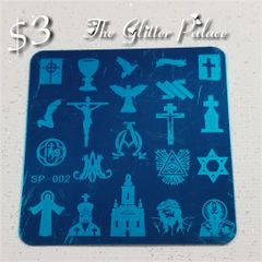 Stamping Plate ( SP-002) Religious