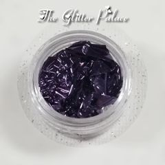 Dark Purple - Gold Leaf Foil