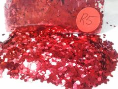R5 Red (.062) Solvent Resistant Glitter