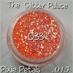 033 Pixie Petals (.015) Solvent Resistant Glitter