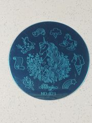 Stamping Plate - (ND-021) Unicorn