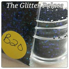 B20 Zotos Black (.040) Solvent Resistant Glitter