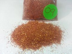 O9 Orange (Extra Fine) Solvent Resistant Glitter
