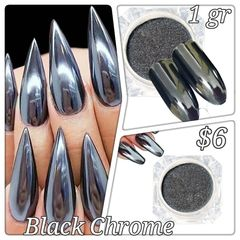Black Chrome Powder (1 gr)