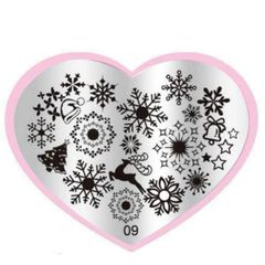 Stamping Plate (09 flakes)