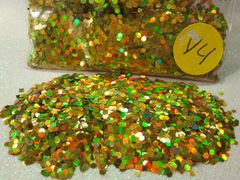 Y4 Holo Chartrause (.062) Solvent Resistant Glitter